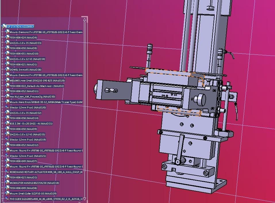 翻转旋转机械手3D模型图纸 STEP格式