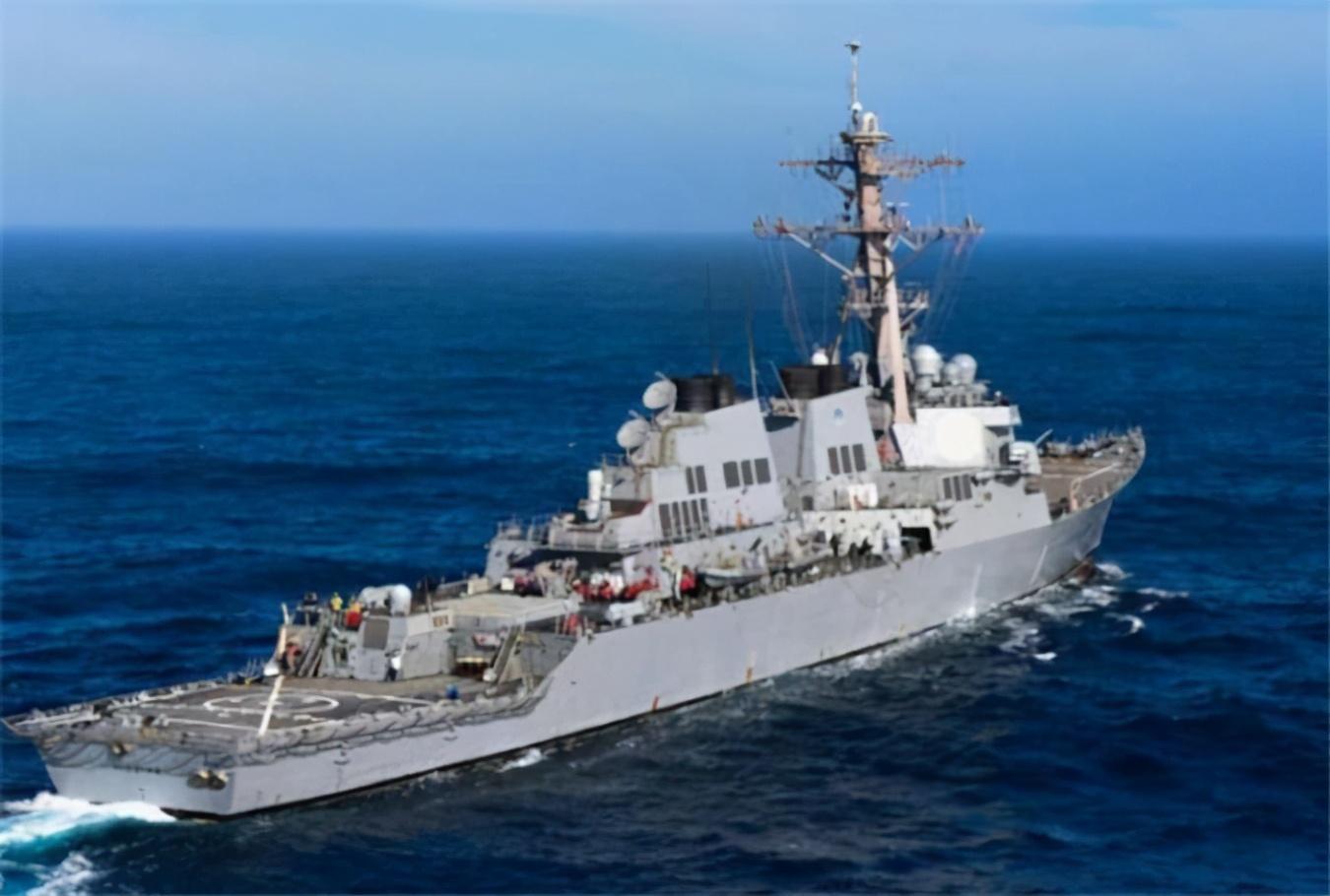 """俄向英方发出""""炸船""""警告后,美驱逐舰驶离黑海:已完成巡逻任务"""