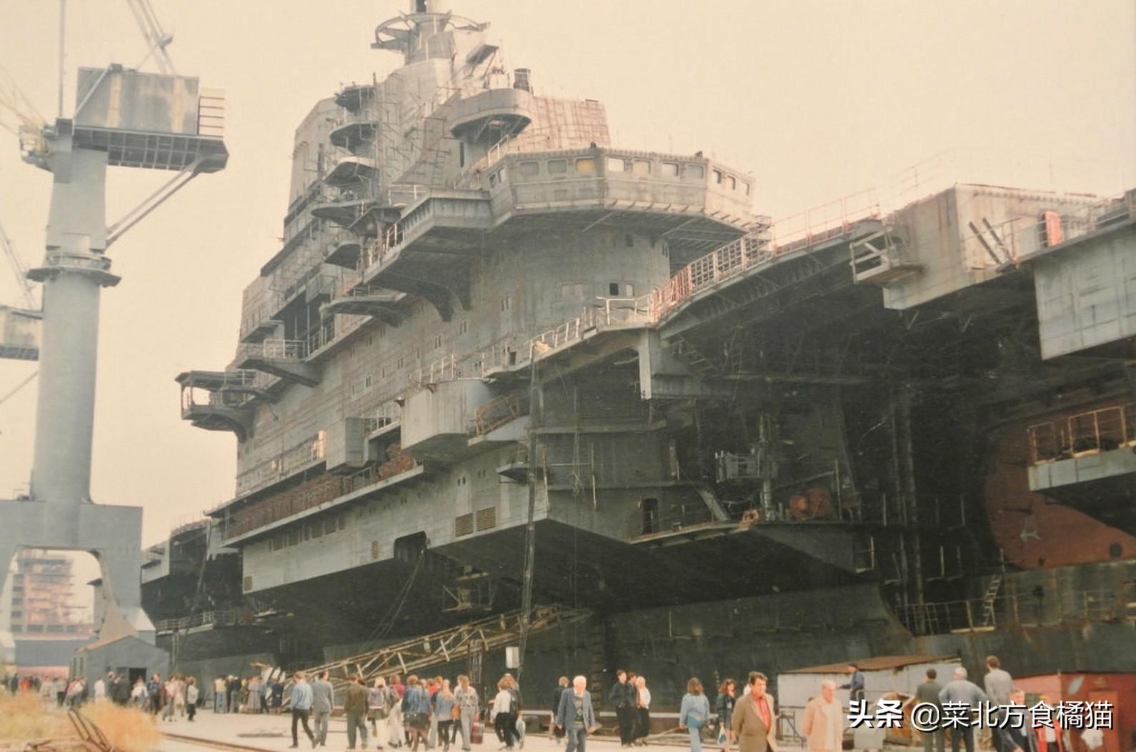 """从""""瓦良格""""到""""辽宁""""舰,中国第一艘航空母舰的坎坷之路(1)"""