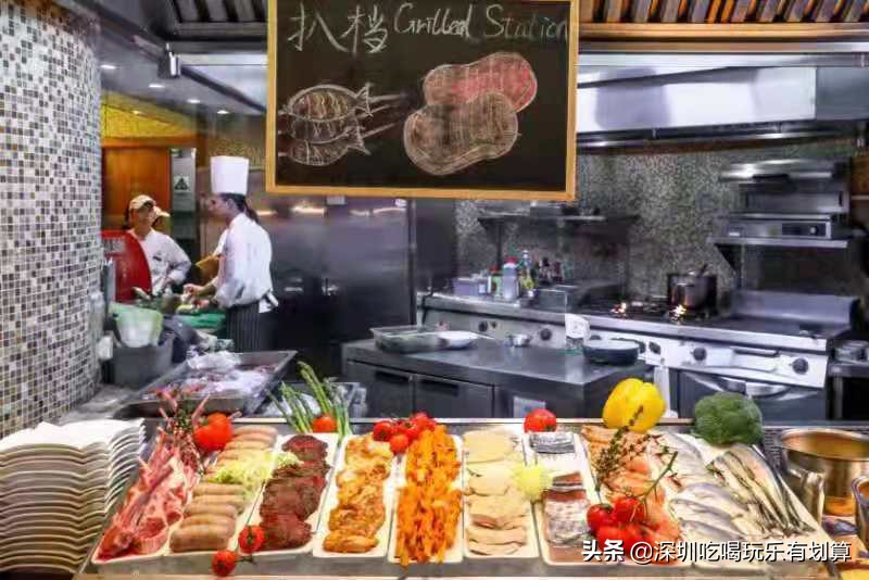 深圳吃到饱的五星自助餐来了,烧烤海鲜寿司,能让你吃到扶墙出