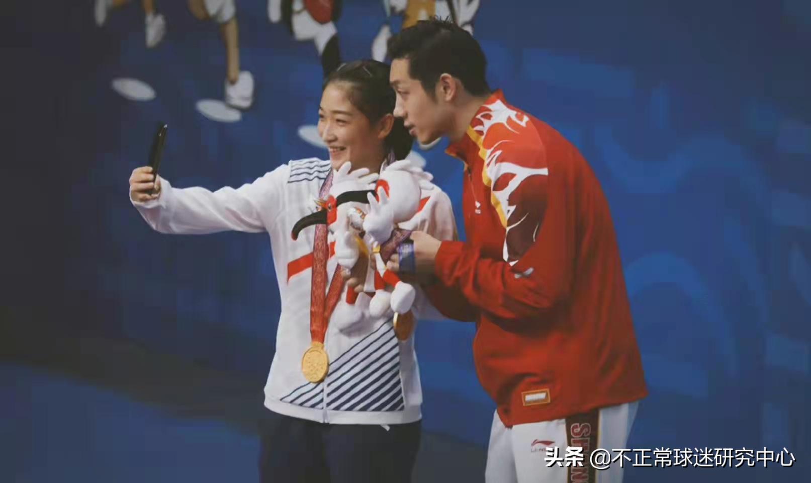 4:2碾压!奥运联队混双夺金,许昕:冠军是给女儿的见面礼