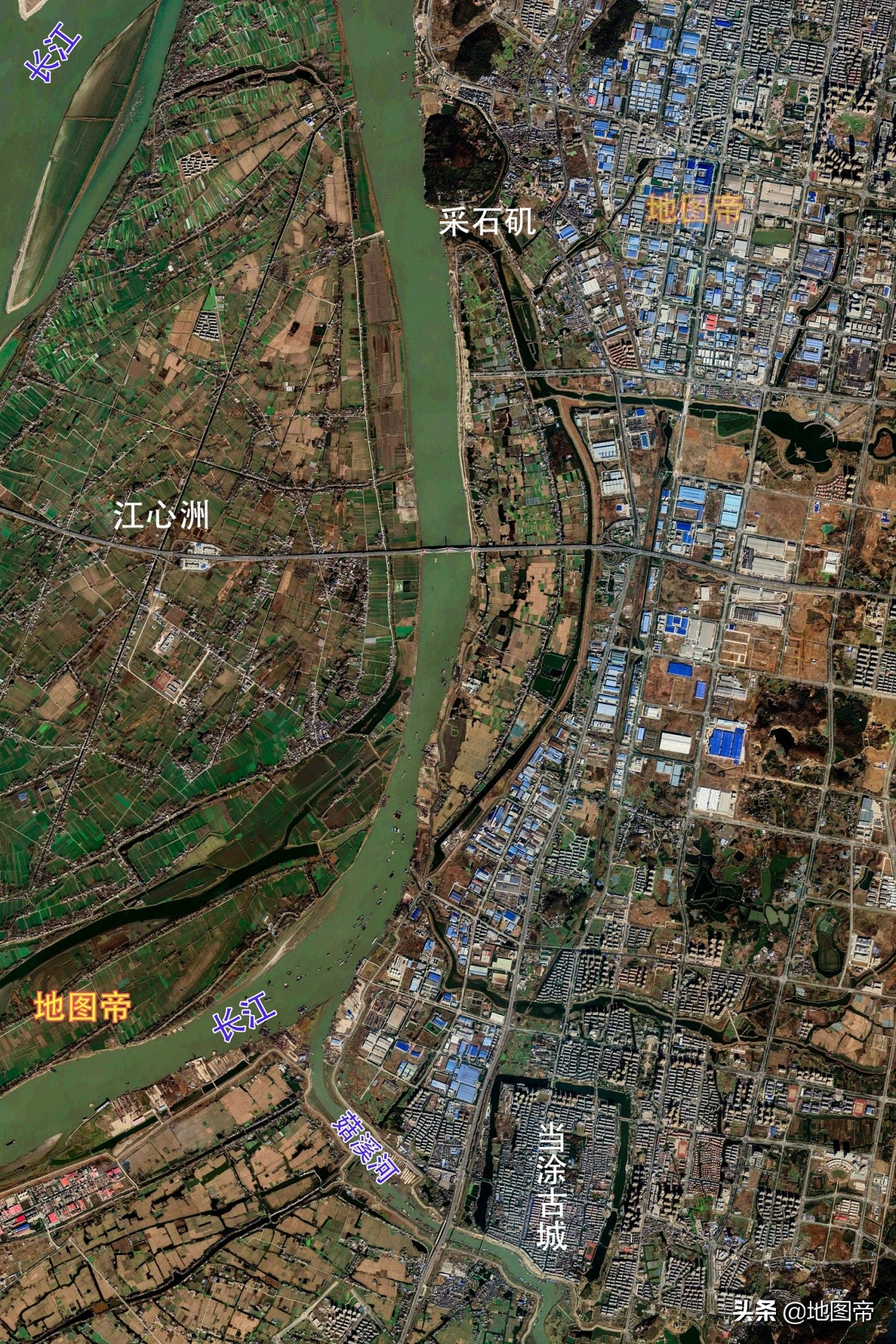 马鞍山原隶属于当涂县,1954年才设镇,为何很快成为省辖市?