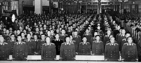 一九五五年授衔大校名单与任职(60年至64年晋升少将部分)