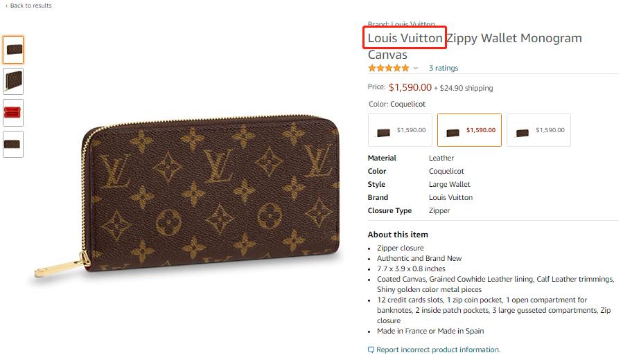 三大奢侈品品牌包包侵权大合集