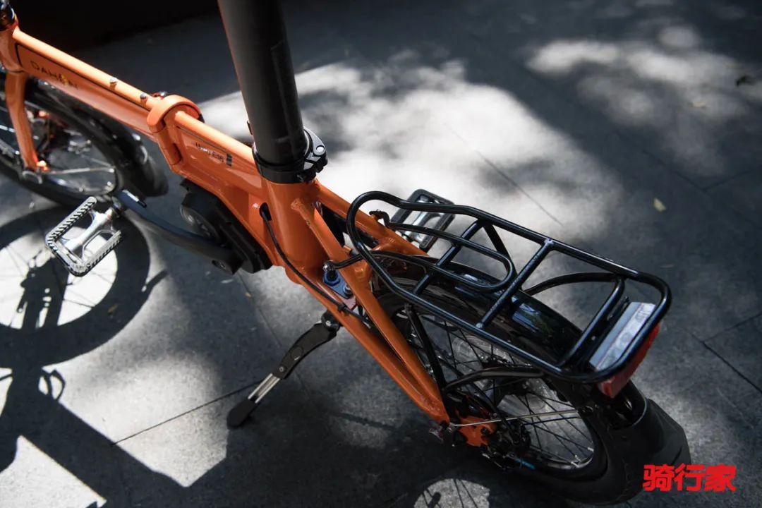娇小玲珑、收纳自如的E-bike——大行中置电助力车KEA693CM