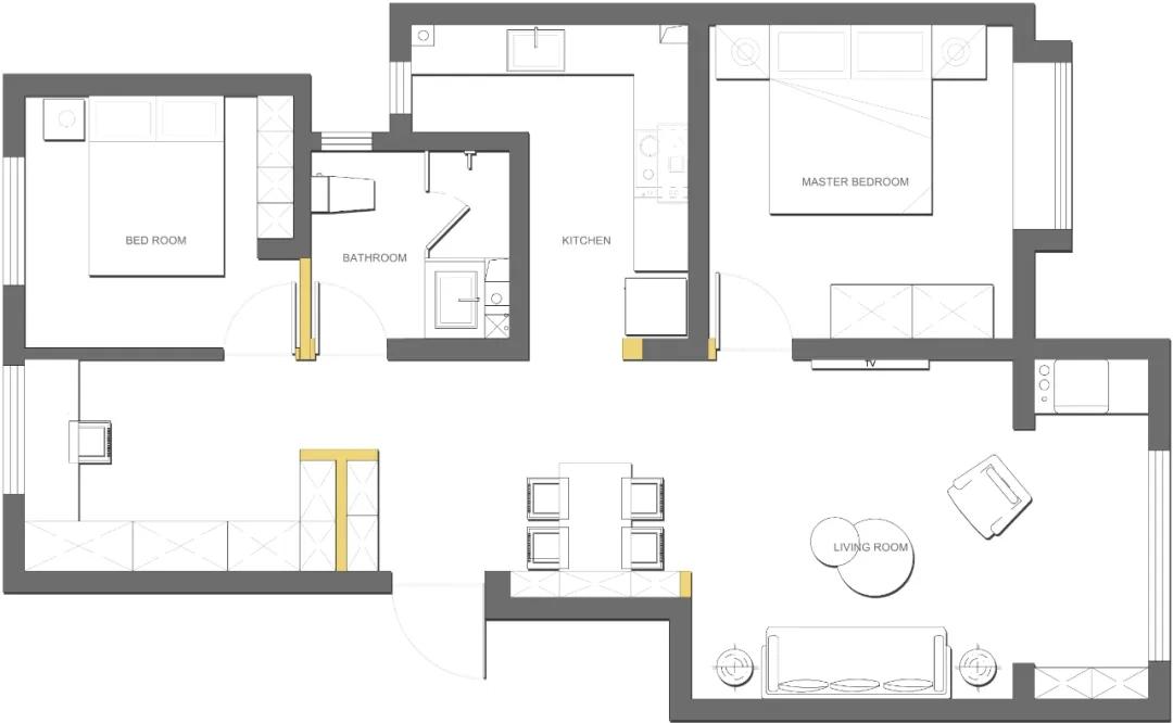 118㎡新房,巧用空间扩容术,装出大气高级感,超多细节值得学