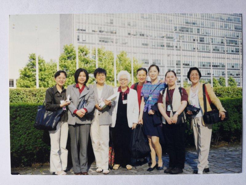 """忆'九五'世妇会,话红枫热线发展""""座谈会举行"""