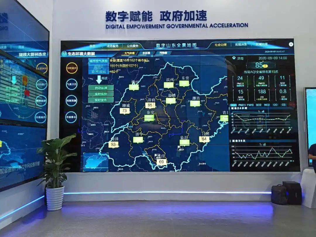 观福州数字峰会,看睿呈可视化赋能三大智慧城市IOC建设