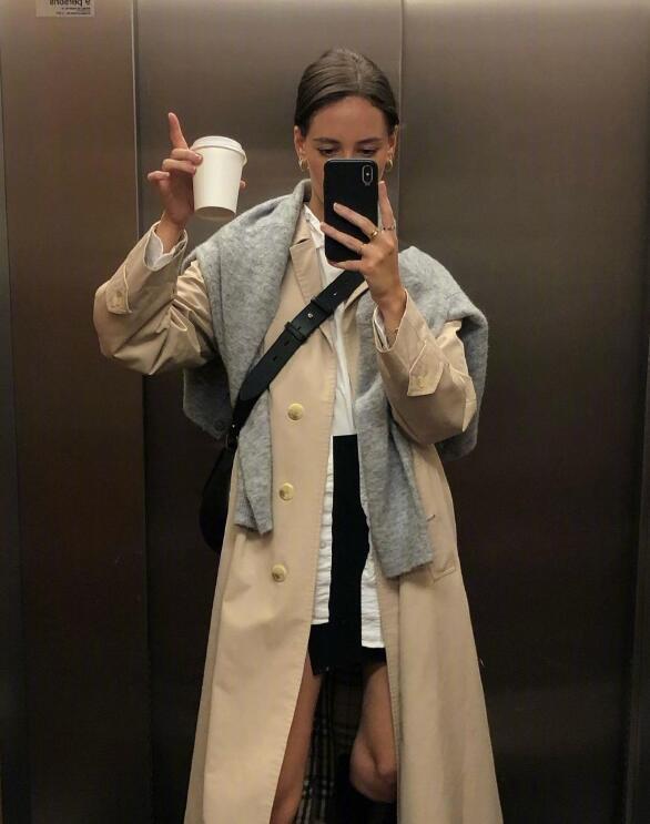 墨尔本的时尚博主 却有着法式慵懒随意的舒适日常范本