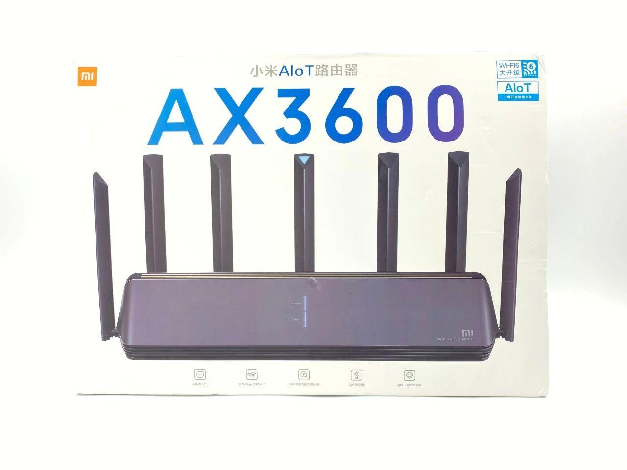599 值不值?小米首款 Wi-Fi 6 路由器 AX3600 拆机体验