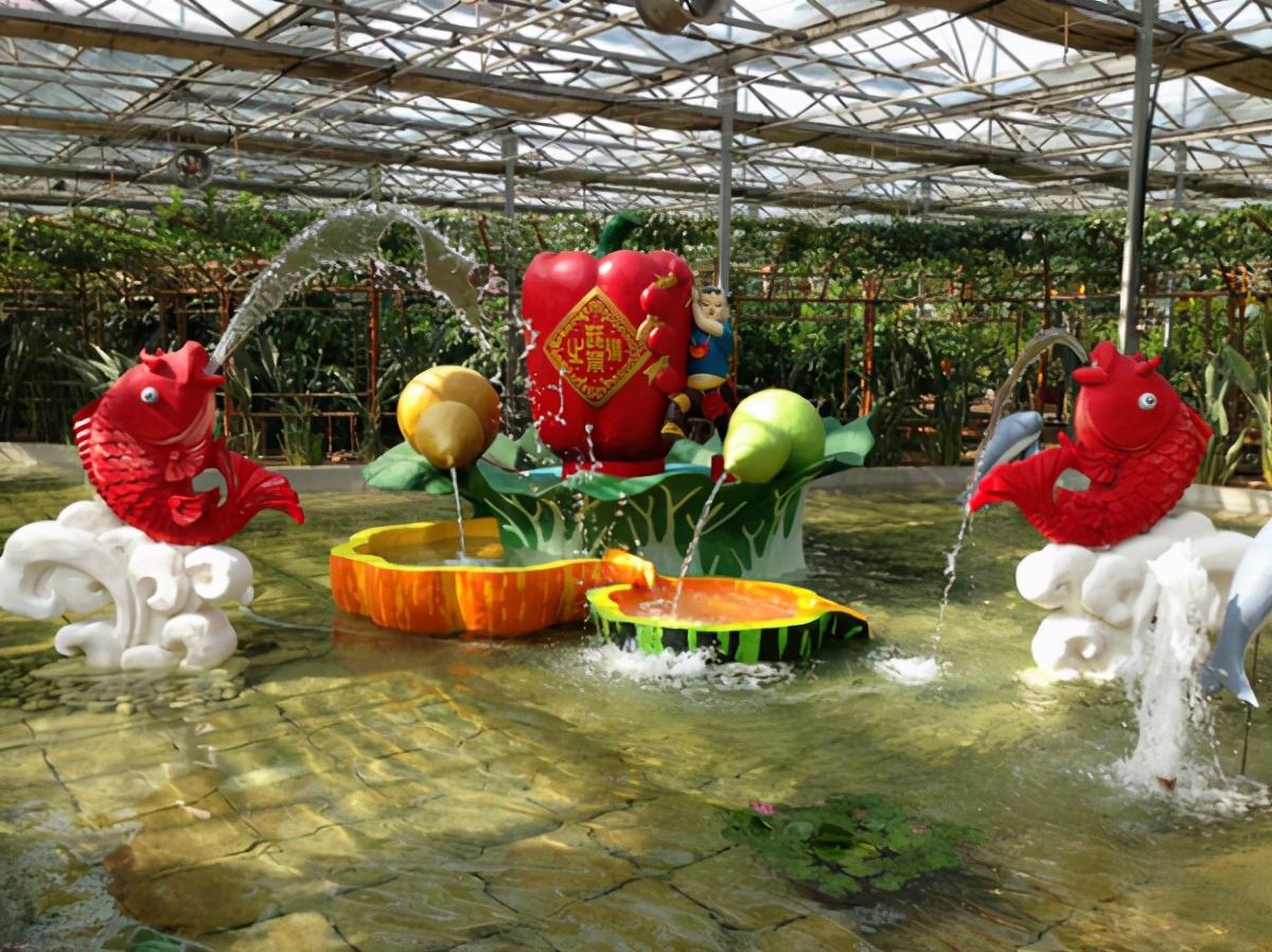 玻璃温室大棚农业观光园,让你尽情享受田园生活
