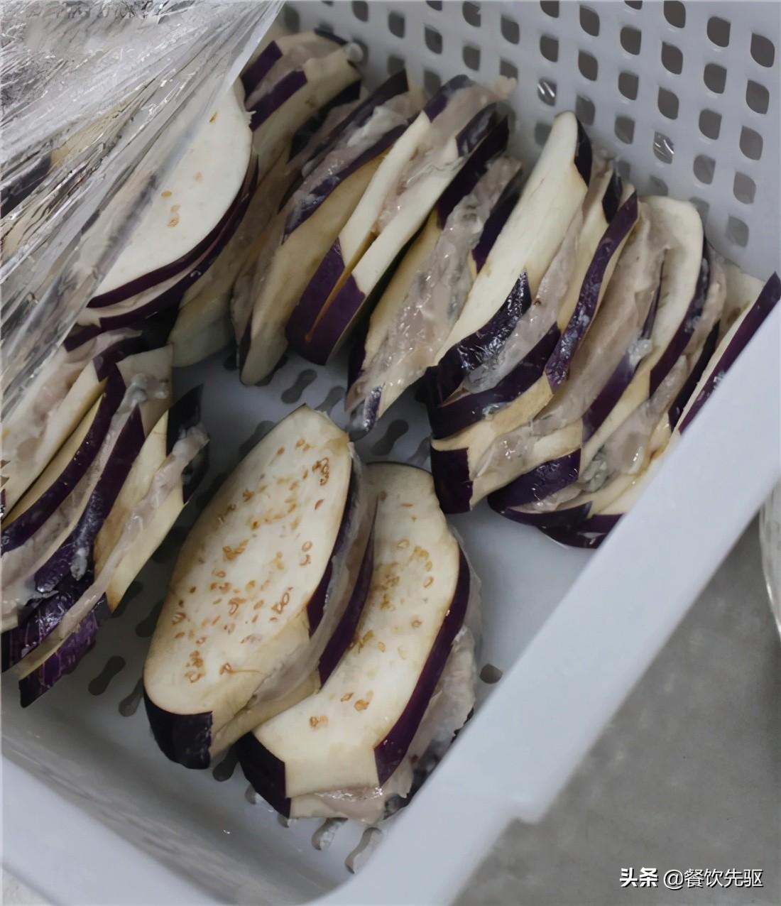 「粤菜」避风塘鱼茄盒的做法 避风塘鱼茄盒 第2张