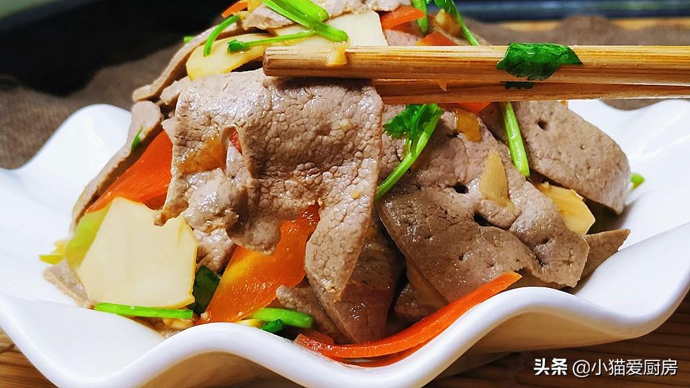 猪肝这样做比炒的好吃 不腥不柴 鲜香滑嫩 而且简单 特下饭