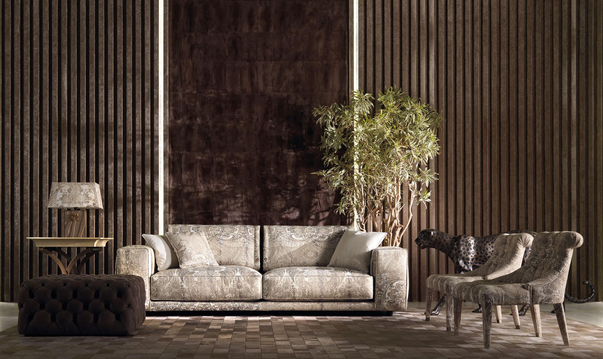 Roberto Cavalli Home夏日丛林系家具,狂野之外的惊喜