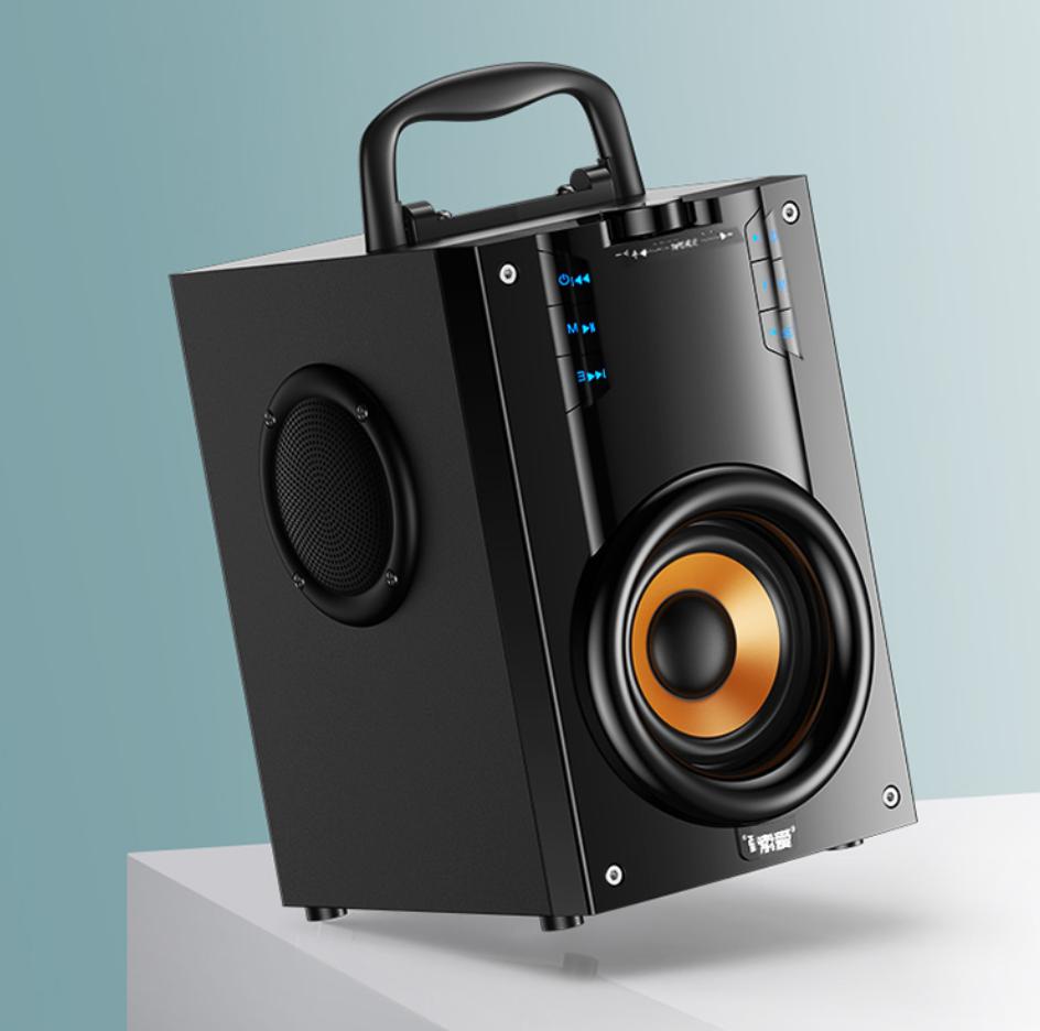 小身材大音量!这款手提音箱成新晋广场舞神器
