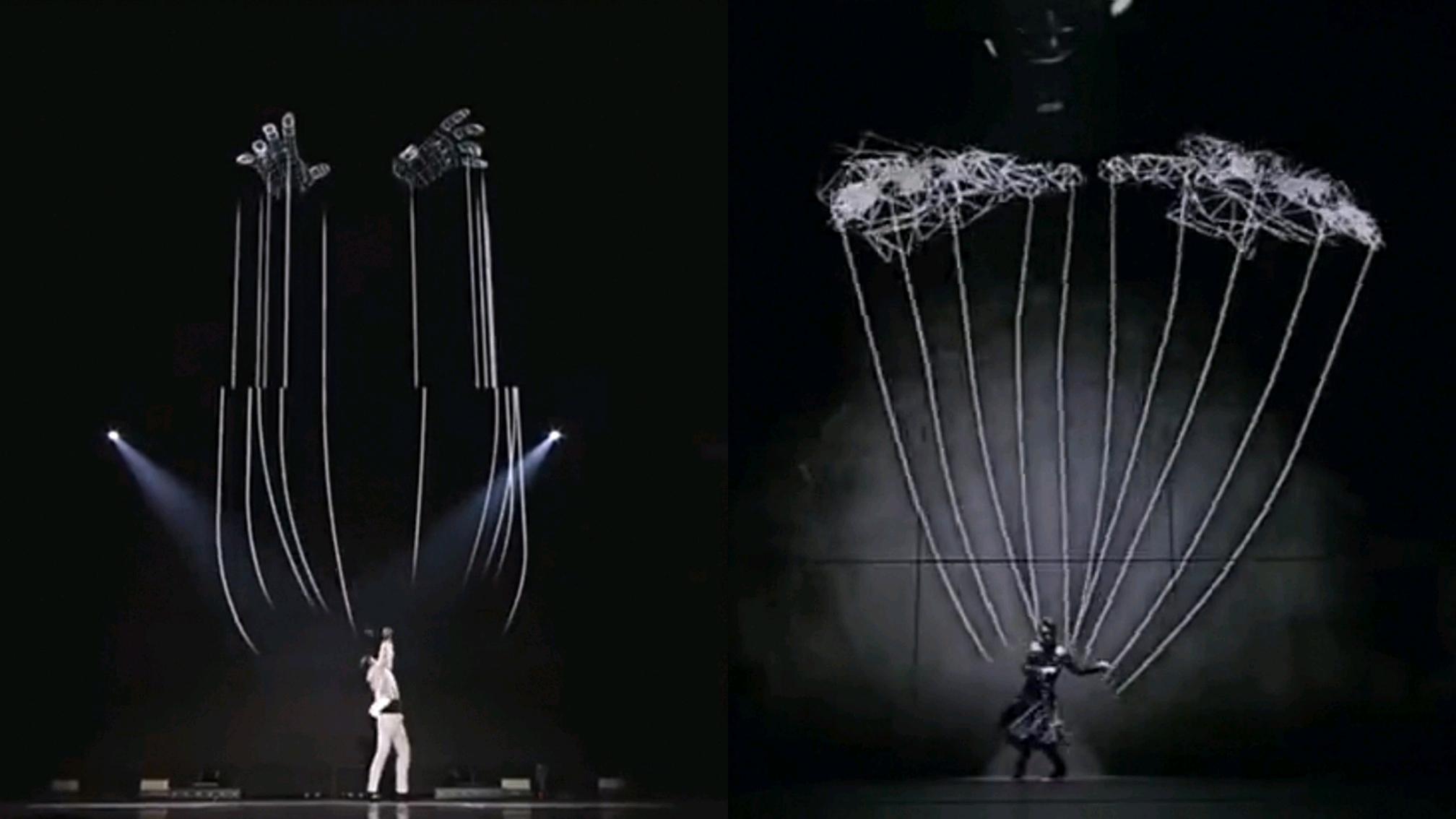 火出千评热帖的韩团抄日团舞台,TMA颁奖礼上被质疑抄袭岚的ASTRO