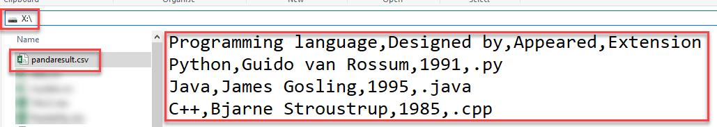 DAY5-step9 使用CSV模块和Pandas在Python中读取和写入CSV文件