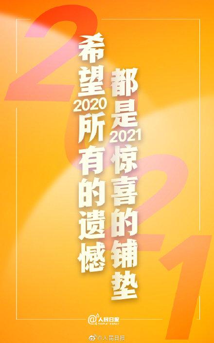 再见了2020,你好2021