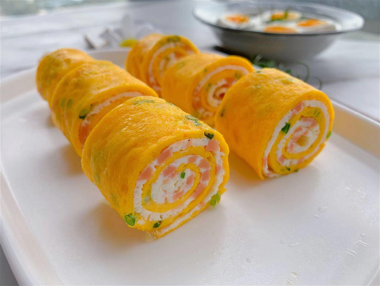 1根香腸,3個雞蛋,教你做出有營養的早餐,大人小孩都愛吃