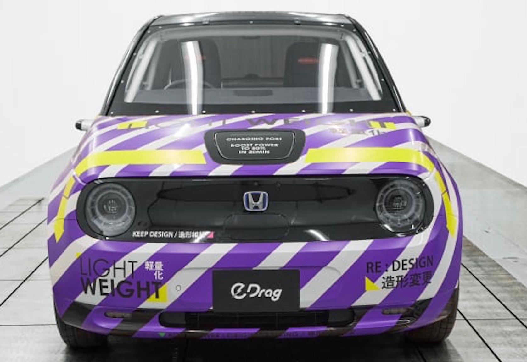 本田E轻量化大拆卸,改装为一个小型赛车,但行驶里程仍有限