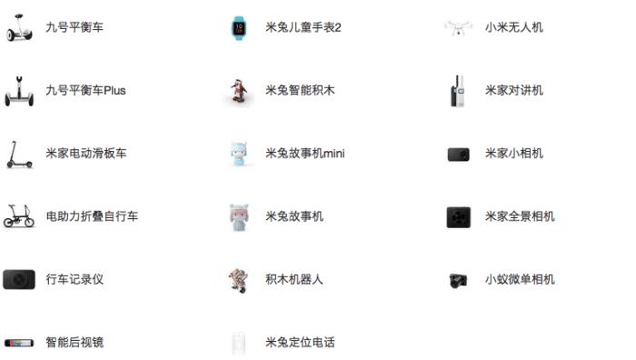 你买了小米手机除开手机上以外的别的商品吗? 品质如何