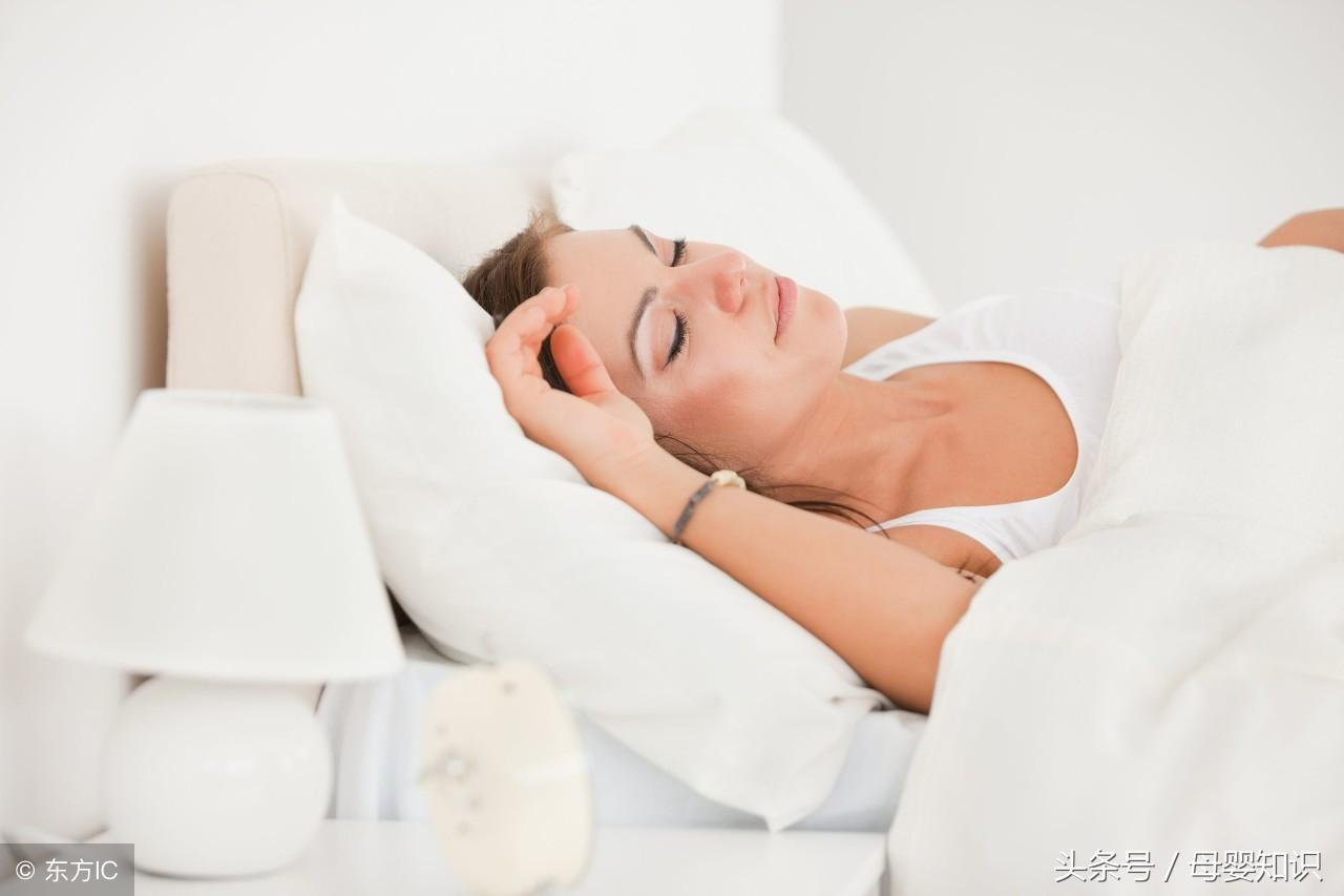为何有的准妈就是睡不好?原因大多这几个