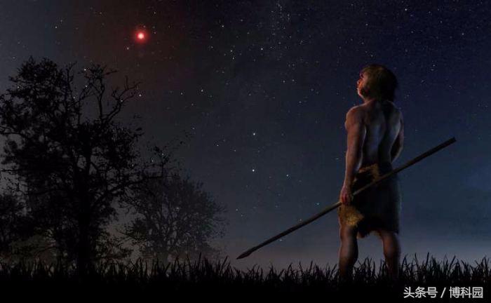 70000年前一颗恒星与太阳系中的彗星和小行星轨道相撞