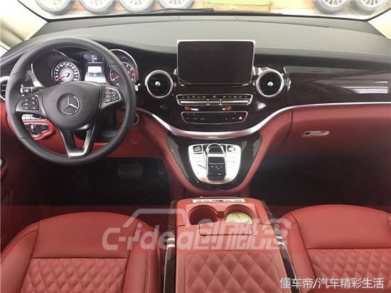 奔驰V260完美改装的豪华感让人触动惊心