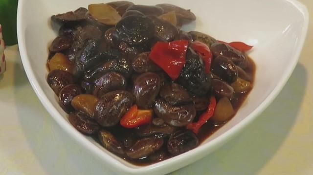 香菇油焖皇帝豆做法步骤图