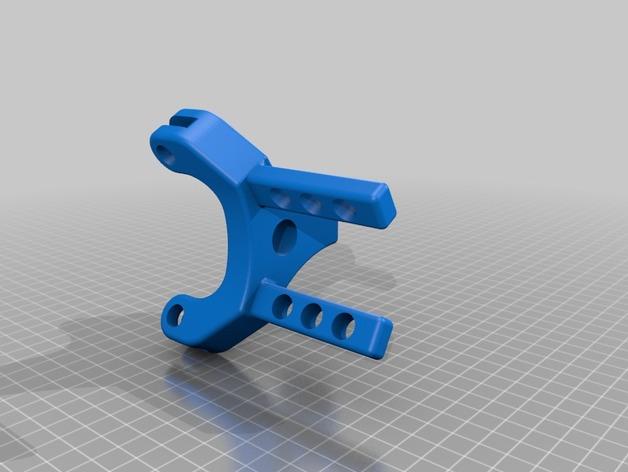 Fin Gripper版Black Ram设计手臂外接式机械手3D打印图纸 stl格式