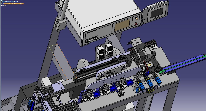 电器检测机3D模型图纸 STP格式