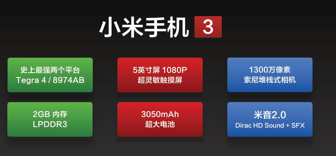 小米7一拖再拖未公布,比不上追忆小米3新品发布会:为发烧而生天地万物根据MIUI