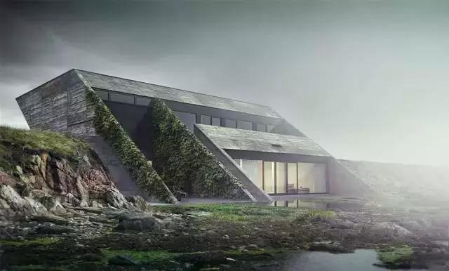「景观」这么干净唯美的建筑景观表现,值得收藏!