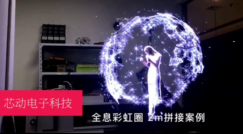 史上最酷炫廣告機,真正的中國智造!