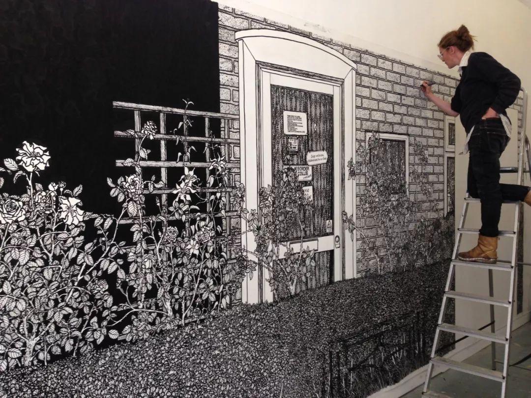 这才叫墙绘,你家那只是墙!