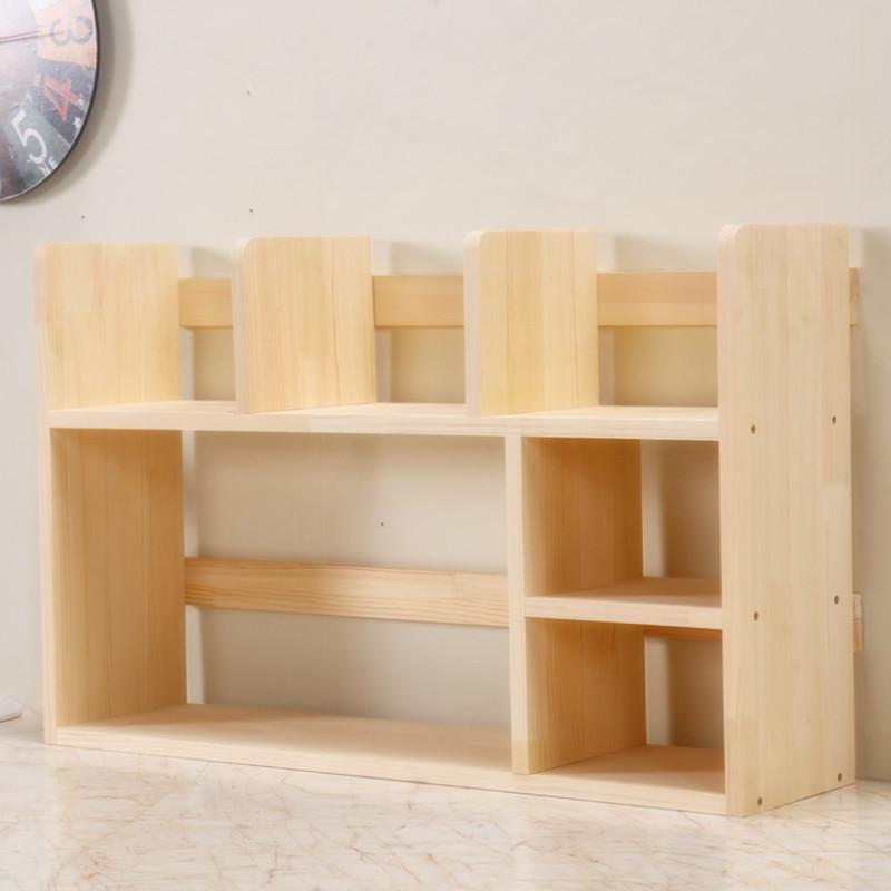 实木小书架,创意小家居,实用而美感