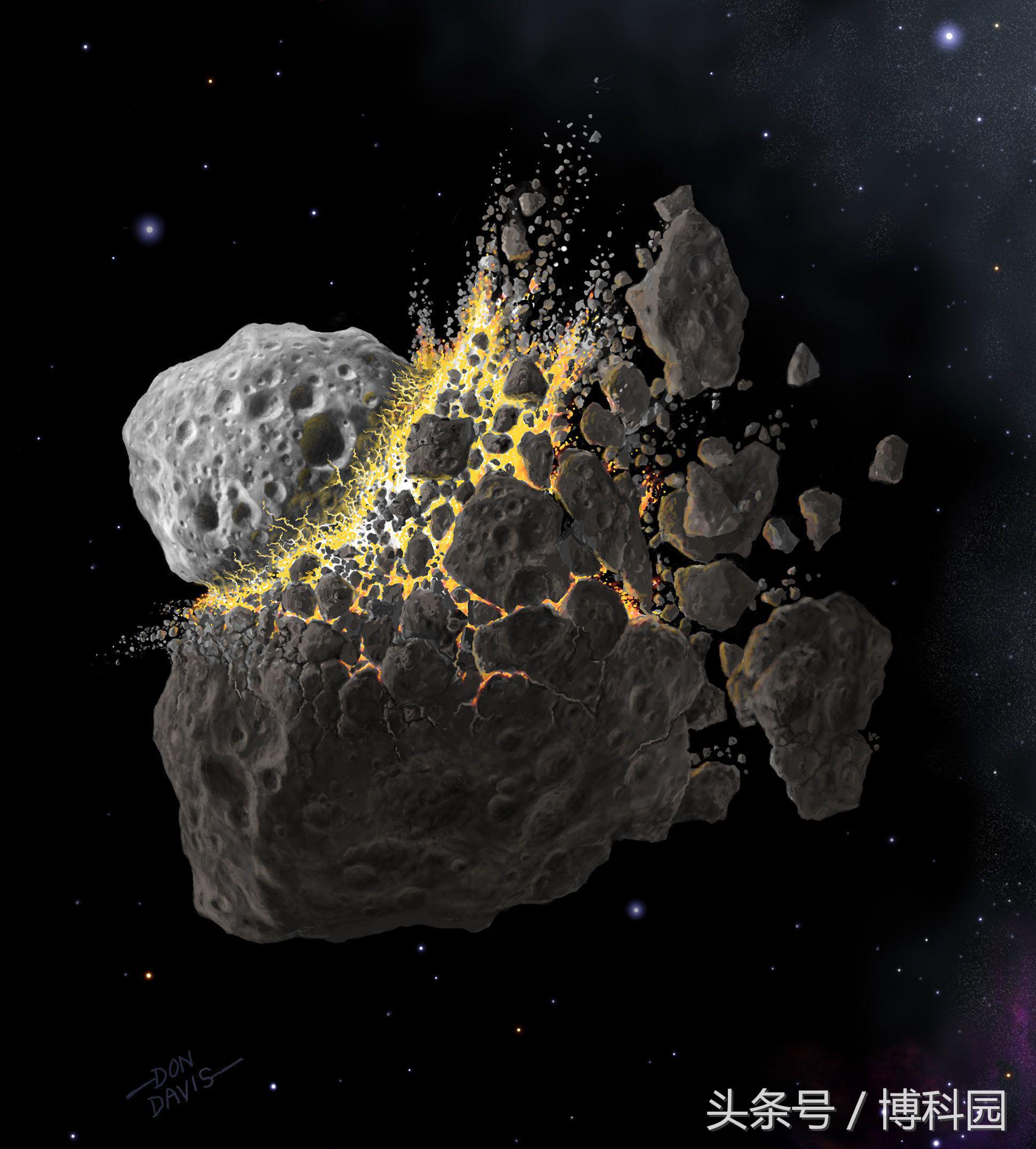 新研究揭示了小行星和陨石的秘密起源