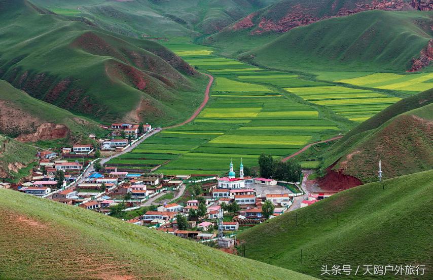 卓尔山,适合普通游客的祁连山风光,附9天甘南川北青海自驾游
