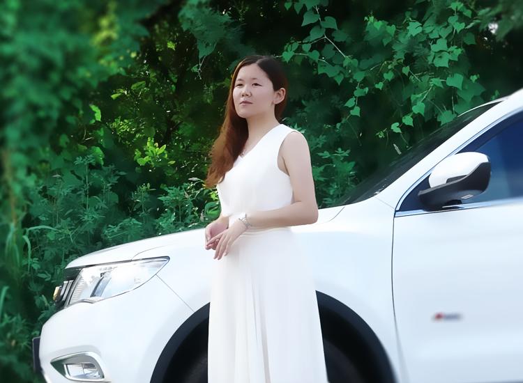 为了诗意的信仰,吉利博越美女车主不惜独自开车一夜奔袭200公里