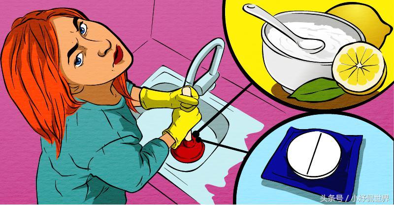 自己可以在家里完成的4种疏通管道的方法
