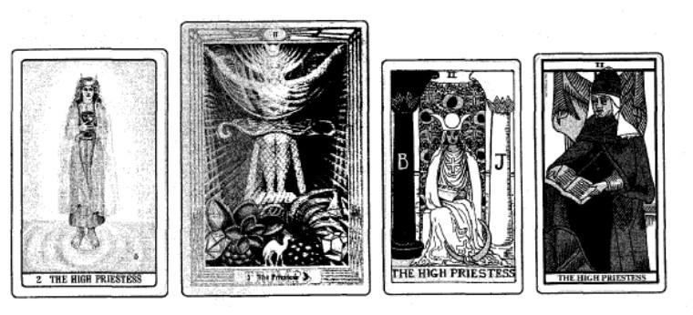 女祭司正位牌代表什么意思-女祭司牌解读