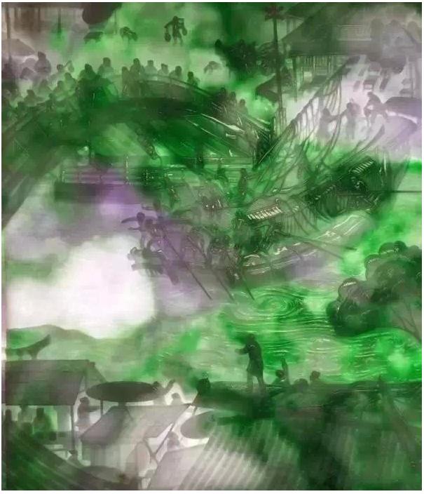 艺术大师耗时四年完成的《翡翠清明上河图》令人叹为观止!