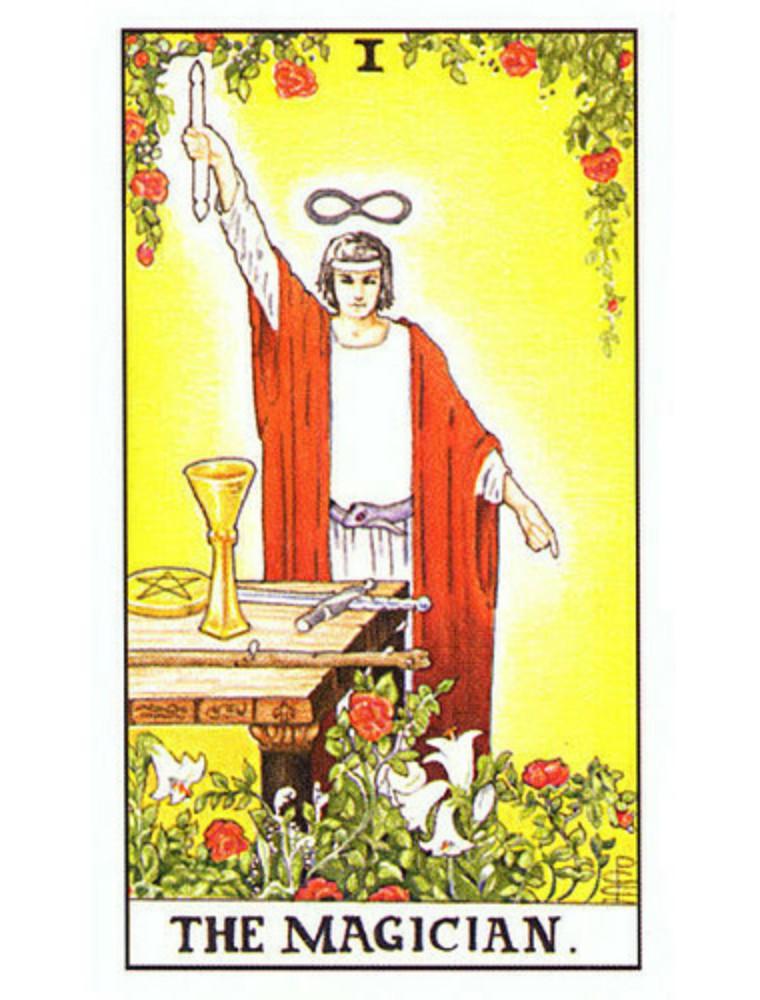 卡巴拉塔罗魔术师牌解读,塔罗牌的正位和逆位什么意思  第2张