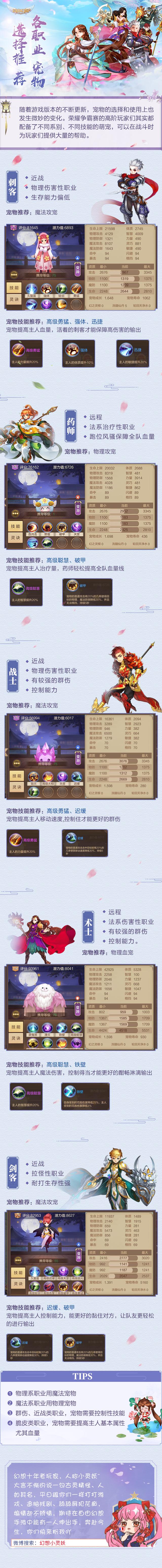 《自由幻想手游》走出桃源村:各职业宠物选择推荐