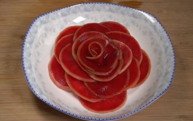 糖醋红心大萝卜做法步骤图 做法很简单!