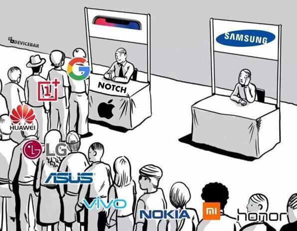 谁才算是iPhone X非常仿冒王?这下知道