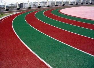自结纹塑胶跑道施工工艺