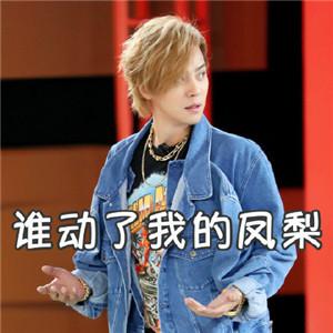 罗志祥黑凤梨表情包:想要做我的小凤梨吗
