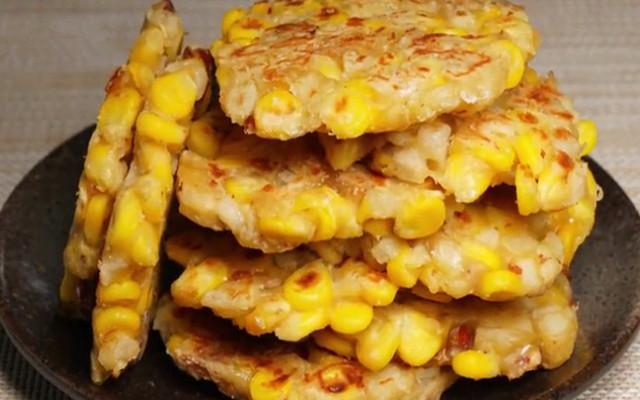 梨香玉米饼做法 既可以当作甜点 又可以当作早餐