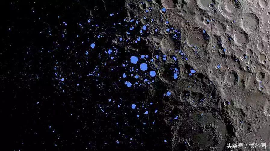 """神秘""""月球漩涡""""揭示月球曾经的火山和磁场"""